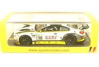 BMW M6 GT3 No.98 Rowe Racing 24H Spa 2017 (T. Blomqvist - N. Catsburg - B. ...