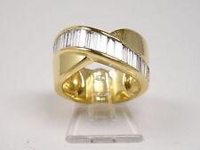 Ring mit Baguettebrillanten 2,25ct. 750-Gold