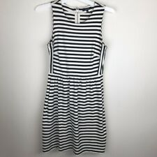 Madewell Stripe Sleeveless Dress w/ Pockets Small S E9109 B320