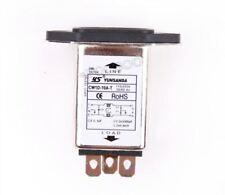 Suppressor Power Line Noise Filter Emi Rfi Ac 250V 10A CW1D-10A-T Male Socket hr