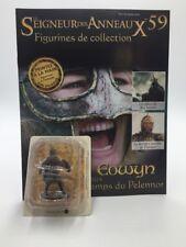 figurine plomb le seigneur des anneaux n59/180 eowyn + fascicule eaglemoss