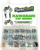SPECBOLT 300pc KXF Kawasaki OE Replacement Bolt Kit KXF250 KXF450 KX250F KX450F