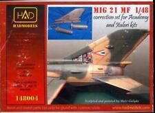 Hungarian Aero Decals 1/48 MIKOYAN MiG-21 MF EXTERIOR SET Resin Correction Set