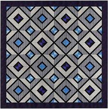 Easy Quilt Kit/Reflection Pool/Queen/Pre-cut Fabrics Ready To Sew!!