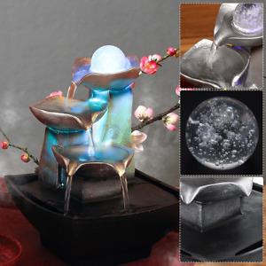 Zimmer Brunnen Wasserspiel Springbrunnen Tisch Zierbrunnen Brunnen Polyresin DE