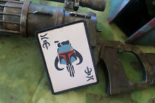 Tactical Outfitters - Boba Fett Death Card Morale Patch - Star Wars Mandalorian