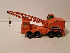 Matchbox 1971 SUPER KINGS Lesney K-12 Mobile Crane LAING