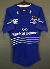 MEN'S PLAYER ISSUE CANTERBURY LEINSTER IRISH RUGBY SHIRT JERSEY CAMISETA SIZE S