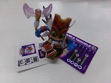 DOUBLE TROUBLE ~ Skylanders GIANTS loose figure w/ CARD & CODE