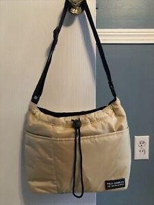 Vintage Womens Ralph Lauren Polo Jean Co Active Bag / Purse Tan