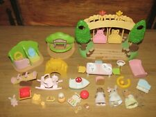 Sylvanian Families Nursery Furniture/ Toy's / Playground & Figure's Bundle