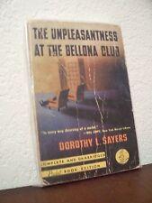 The Unpleasantness at the Bellona Club by D,Sayers (PB#74,4'th Prnt.Mar.1941,PB)