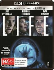 Life 4K Ultra Blu-ray Bluray Digital Ultraviolet UV NEW