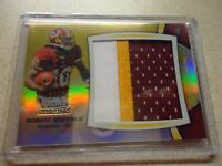 2012 BOWMAN STERLING JUMBO ROOKIE PATCH 3 COLOR ROBERT GRIFFIN III 13/25 RARE