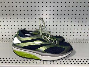 MBT Afiya Lace Womens Athletic Walking Toning Shoes Size EU 37 US 6 6.5 Blue