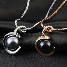 Crystal Pearl Rose Gold Plated Costume Necklaces & Pendants