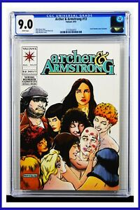 Archer & Armstrong #13 CGC Graded 9.0 Valiant August 1993 White Pages Comic Book