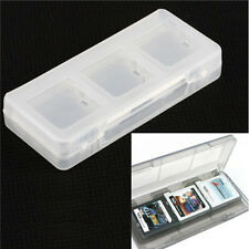 6 in1 Plastic Game Card Storage Holder Case Cover Box 3DS DSI DS NDS Top