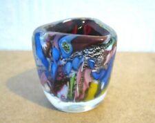 "Vintage AVeM Murano ""Tutti Frutti"" Miniature Glass Vase"