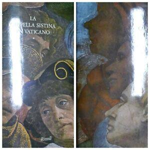 LA CAPPELLA SISTINA IN VATICANO / 2 VOLUMI RIZZOLI / ILLUSTRATI CON TAVOLE /1974