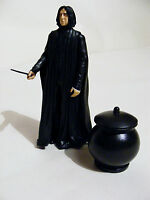 "Harry Potter Figure 5"" Professor Severus Snape,Wand & Cauldron Half Blood Prince"