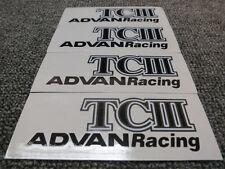 JDM Brand New 4pc Sticker Decals 17-19 inch Rims Wheels Advan Racing TCIII TC3