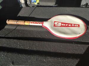 Garcia Pro 240, tennis racket, autograph Harold Salomon