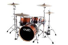 Crush Drums Sublime Maple 4 Piece Drum Kit/Copper Sparkle Fade/RARE SIZE/NEW