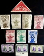ANTIQUE RARE COLLECTIBLE SET OF SPAIN ESPANA POSTAGE STAMPS