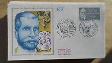 FDC Enveloppe Premier Jour - CEF - Alexandre Yersin - 21/02/1987 - Paris
