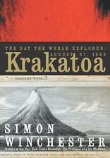 KRAKATOA_THE DAY THE WORLD EXPLODED_FREE S/H_NEW HC/DJ_SIMON WINCHESTER