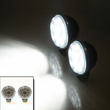 Universal Front Smd Led Fog Lights Car Van Offroad Recovery 4x4 12v