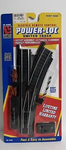 LIFE-LIKE TRAINS HO Gauge Power Loc #21305 Switch Track Turnout Right New Sealed