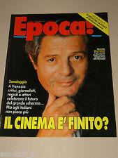 EPOCA=1990/2083=MARCELLO MASTROIANNI=CARMEN LASORELLA=GIORGIO ARMANI=VIA POMA=