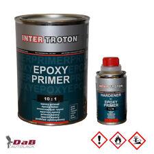2K Epoxy Primer grau + Härter 1,1kg Epoxid Grundierung  EP Füller EP-Haftgrund