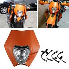 Motorcycle Bike Headlight Lamp For Enduro Road Legal KTM EXC EXCF XCF XCW SXF