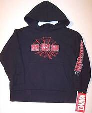 NWT Marvel Spiderman Black Sweatshirt Hoodie, Small (4)