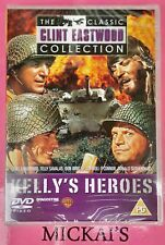 KELLYS HEROES - THE CLASSIC CLINT EASTWOOD COLLECTION CCECN07 DeAGOSTINI DVD PAL