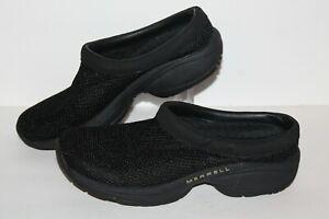 Merrell Primo Breeze 2 Mule Casual Shoe, #J63302, Black, Women's US Size 7.5