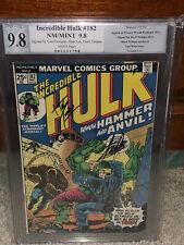 Hulk #182 PGX 9.8 Stan Lee Signature! Lou Ferrigno! WP! Free CGC sized mylar cm