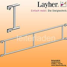 Layher Fahrgerüst Doppelrückenlehne 2,85m Gerüst Doppelgeländer Rollgerüst Zub.
