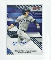 2017 Bowman's Best Dustin Fowler AUTO Prospect RC, Yankees - A's!