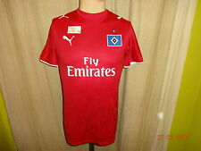 "Hamburger SV Original Puma Ausweich Trikot 2006/07 ""Fly Emirates"" Gr.S TOP"