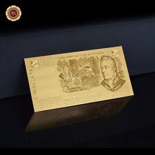 WR 1985 Australia $5 Dollar Note 24K Gold Foil Novelty Banknote Money Collection