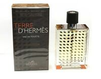 Terre D'Hermes H Bottle Limited Hermes Men 3.3 oz 100 ml *Eau De Toilette Spray
