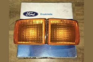 Ford Escort Sierra RS Cosworth Amber Front Bumper Indicators Race Rally RS500