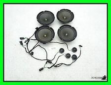 99-04 Audi A6 Quattro All 4 Door BOSE Speaker & Tweeter Set - Speakers Tweeters