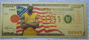 Hey it's Kobe Bryant Novelty 100 Dollar USA Flag V2 Bill at Good old smokejoe13.