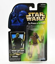 Star Wars POTF Weequay Skiff Guard Figure With Force Pike 1997 Kenner