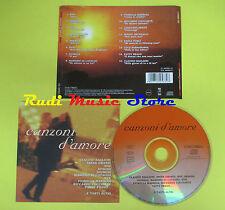 CD CANZONI D'AMORE compilation 98 RAF SPAGNA NEK GRANDI OXA (C4) no mc lp vhs